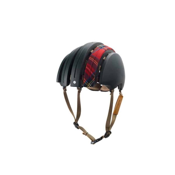 Brooks Urban Helmet Special – Large – Green / Red Tartan