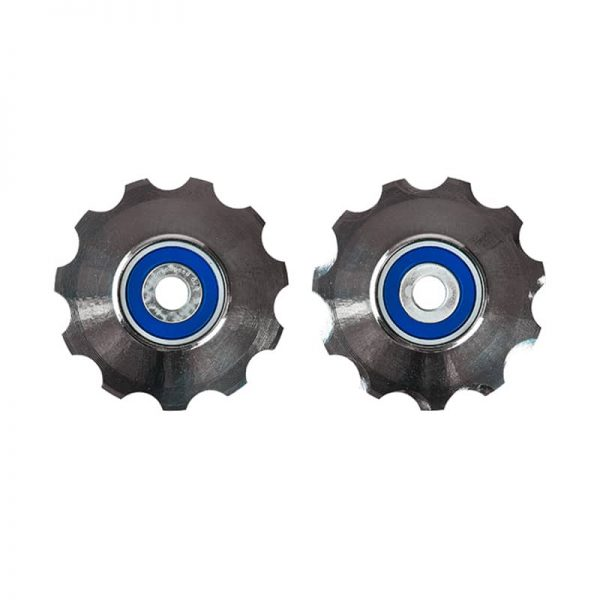 CeramicSpeed 3D Printed Hollow Ti Sram Pulley Wheels 11 S  Titanium Coated