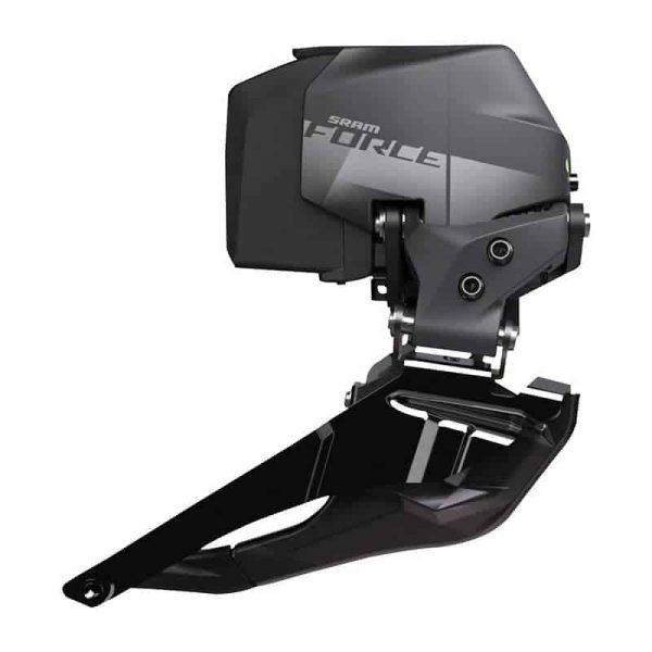 SRAM Force eTap AXS Front Derailleur – Braze-on, Black, D1