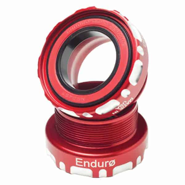 Enduro External Bottom Bracket Road (68mm) – SRAM – Zerø Ceramic – Red