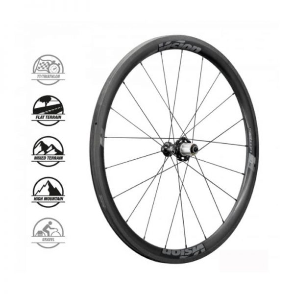 METRON 40 SL DISC TUB SH11 (wheelset)