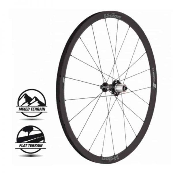 METRON TRIMAX Carbon 40 Clincher SH11 (wheelset)