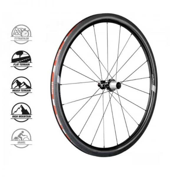 VISION TRIMAX 35 DISC DB TL SHIMANO (wheelset)