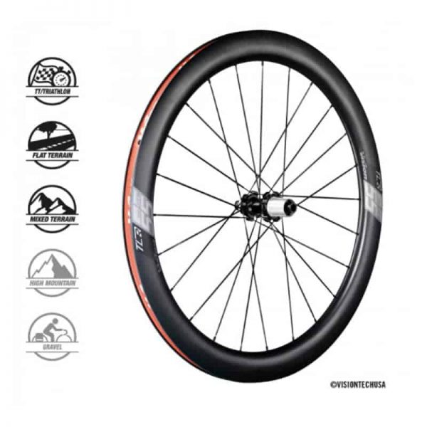 VISION SC55 DISC Centerlock CH-TL SH11 (wheelset)