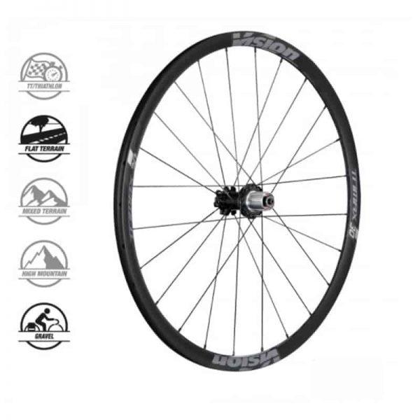 VISION TRIMAX 30 DISC DB Shimano (wheelset)