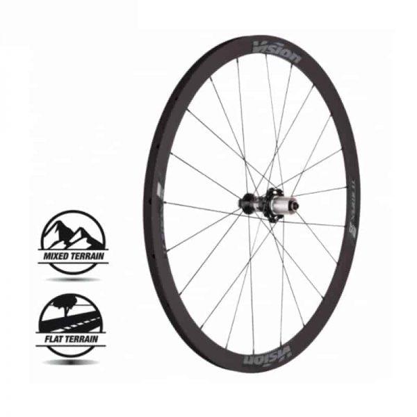VISION TRIMAX 35 KB SH11 V17 (wheelset)