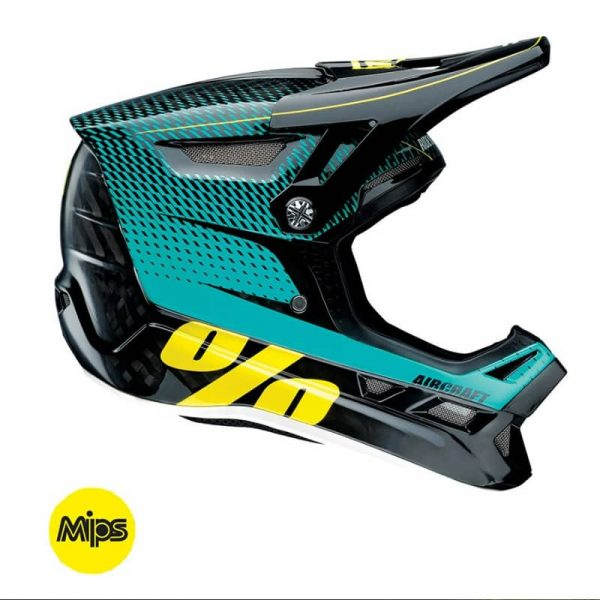 100% AIRCRAFT DOWNHILL HELMET WITH MIPS (R-CORE TEAL)
